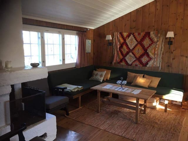 Cosy and simple ski in/ski out cabin in Vierli