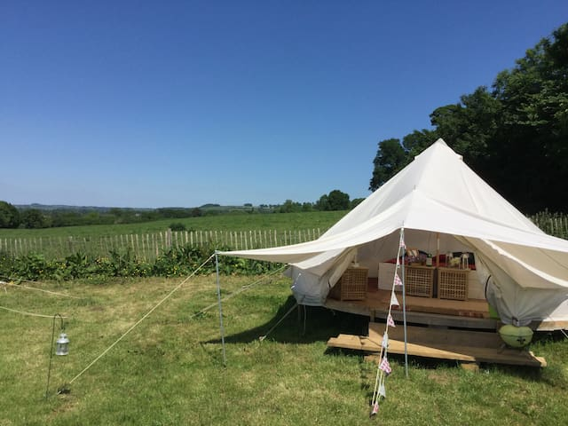 Manor Farm Shop Bell Tents