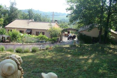 chambre  privée 2 personnes - Saint-Paul-en-Forêt - Rumah Tamu