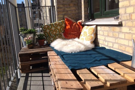 3-rooms + balcony in central cph