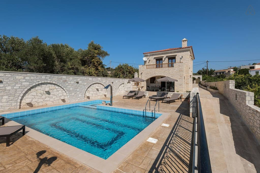 Asteri Villa Exterior - Private Pool