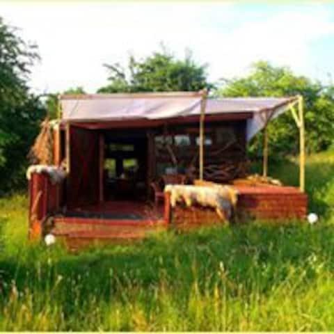 Hundertwasserhaus/romantik/udendørsmiljø