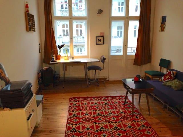 2 beautiful rooms in Berlin-Wedding (Sprengelkiez)