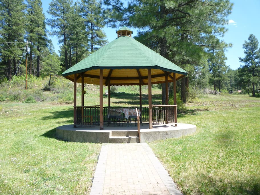 Great Gazebo on the property