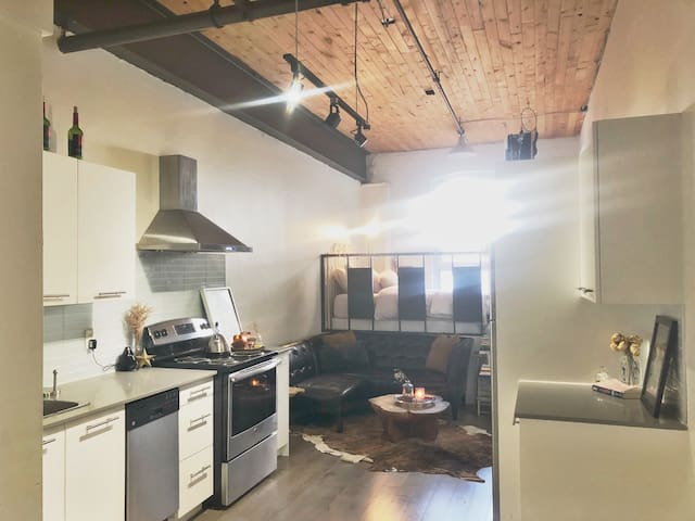 Cozy, Modern, Downtown Loft