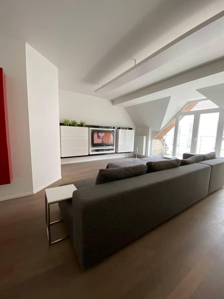 Ruim en modern duplex appartement