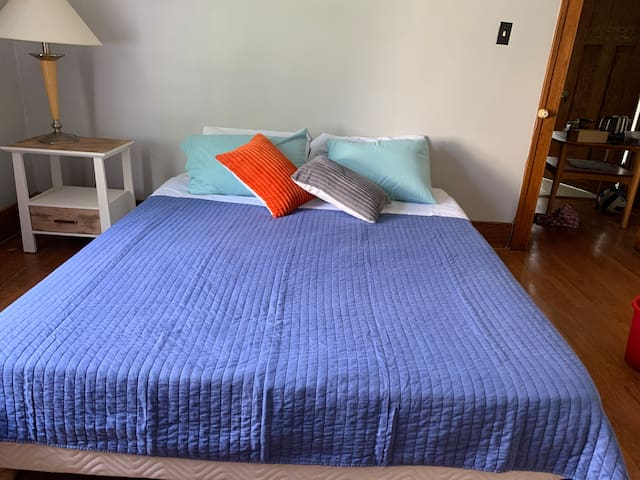 Downtown Lake Orion cozy bedroom!