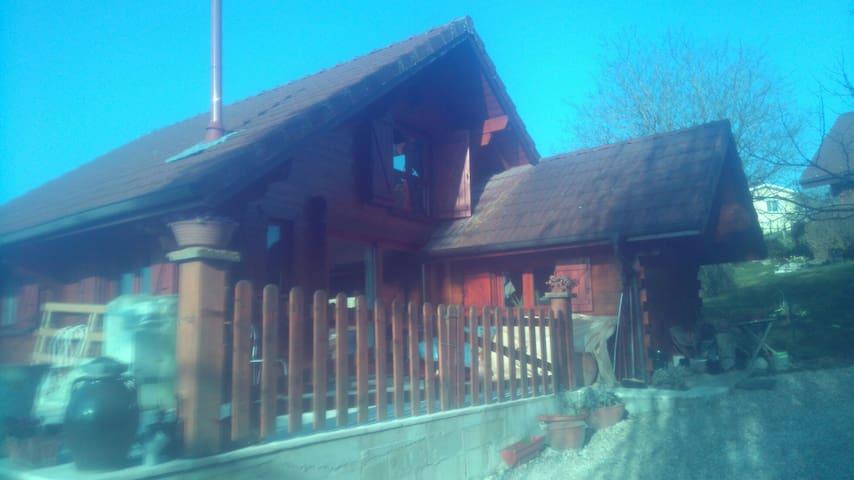 Chalet rustique indépendant - Priay - Chalet