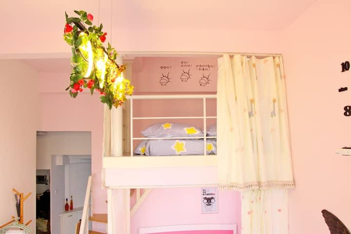 Black Humor Deluxe Couple Big Bed Room