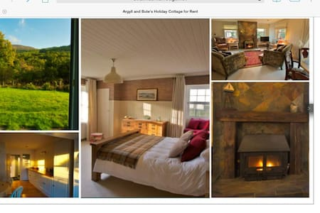 Rustic luxury hideaway sleeps 7 - Cairndow - Haus