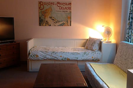 Lovely 1 bdr apt with private patio - Hoeilaart - Apartment
