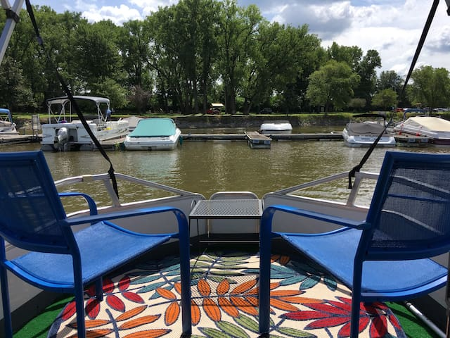 The Perfect Little Houseboat For Two