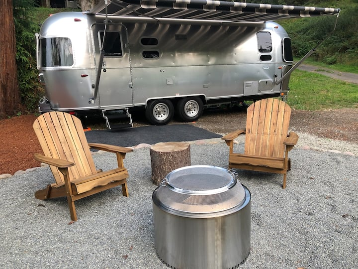 Tucked Away in Town! The Airstream Experience!