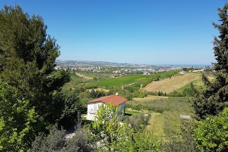 Vacanza in villa: natura e relax! - Cappelle sul Tavo - Vila