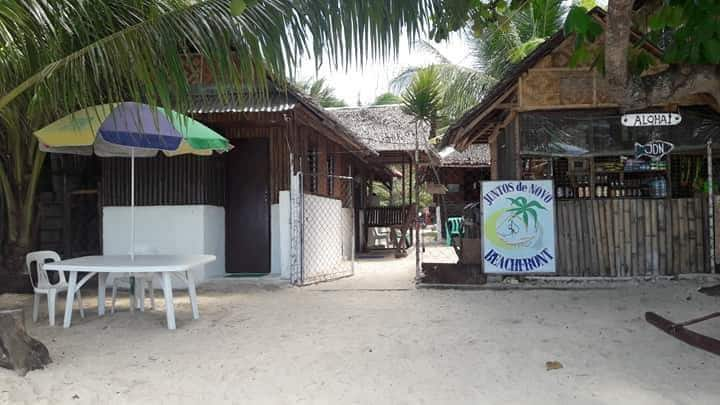 Open cottage day use only badian lambug beach