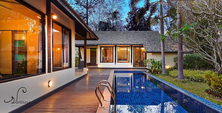 Family Pool Villa/Chiang Mai / Free Breakfast for4