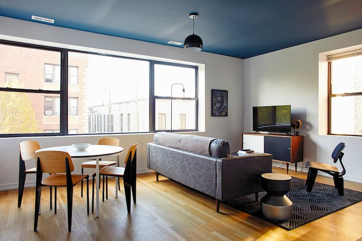Designer 2BR in Converted Uptown Firehouse