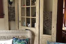 Comfortable reading space