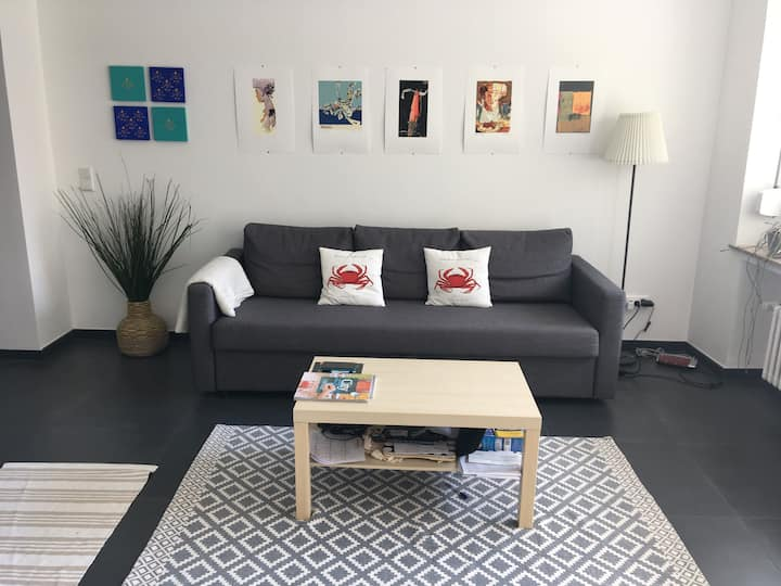 Cozy Apartment 1-2 people in the heart of the city