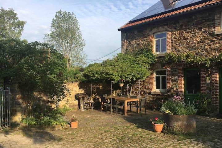 Le Wayai : Chambre privée typique des Ardennes