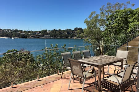 Big waterfront unit Birchgrove great views