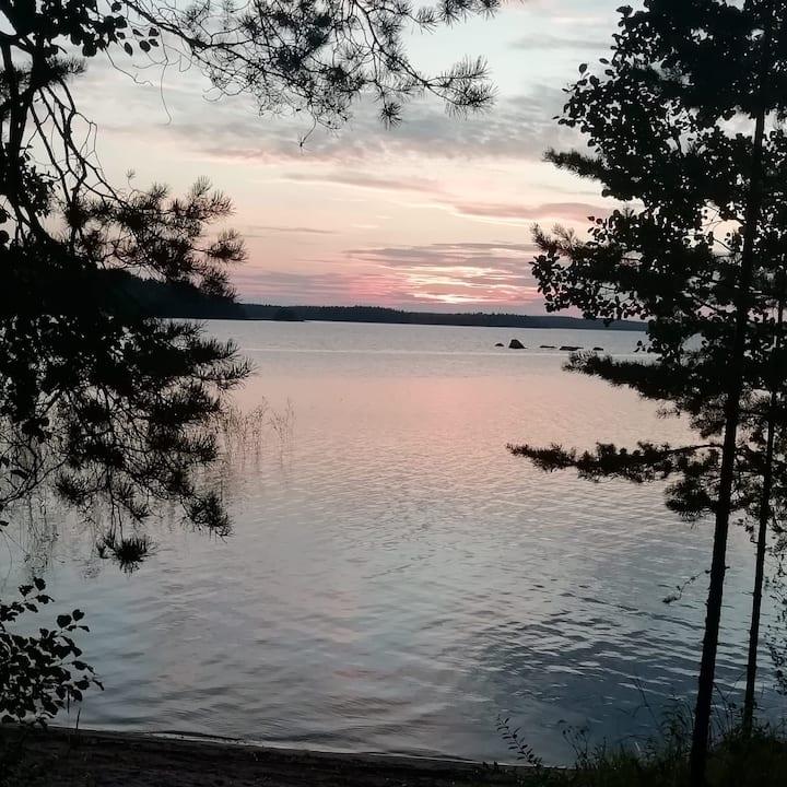 Apartment in most beatiful Finnish Lake area