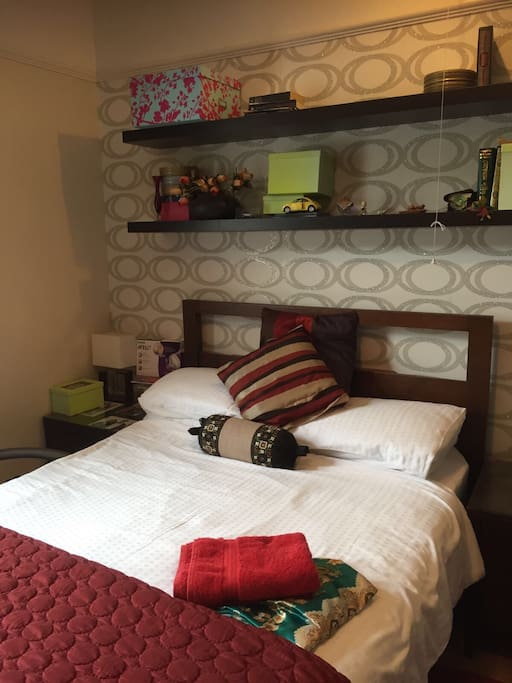 Spacious Double bedroom with a double bed