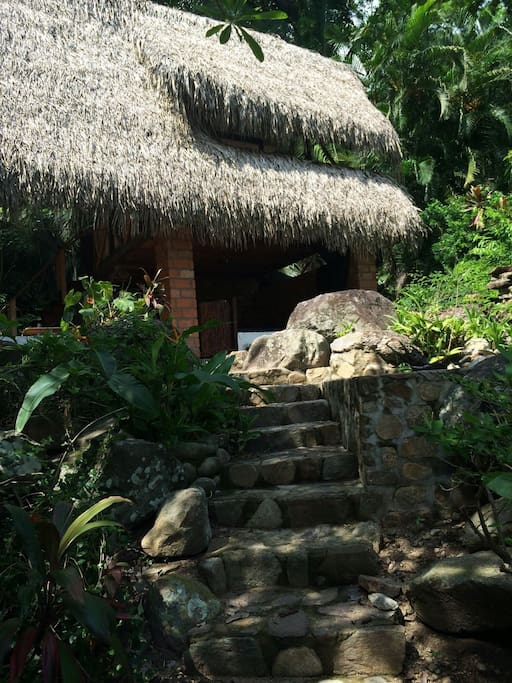 Path to the palapa