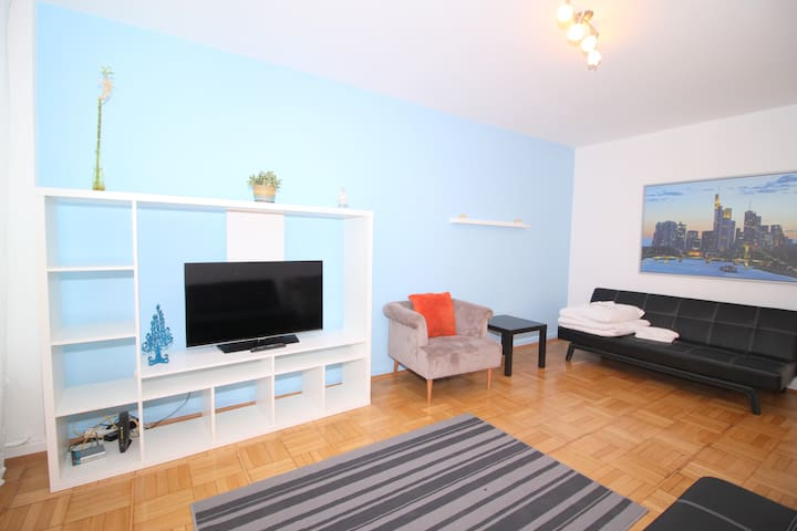 Big Apartment In The Heart Of Franfurt City Life