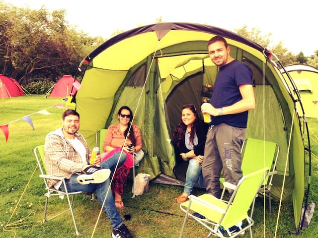 4 Man Tent EdinburghFestivalCamping - Ingliston - Tienda de campaña