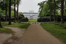 Paleis Soestdijk, 15 minutes walking