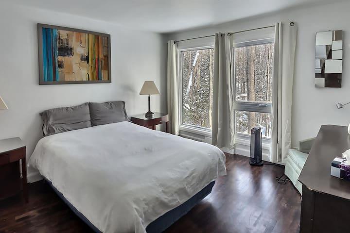 Chambre 2- lit double