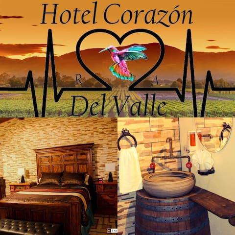 Corazón del Valle.RyA Valle de Guadalupe Suite&SPA