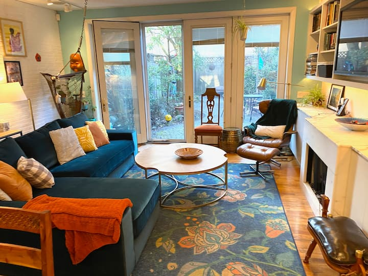 Spacious and Colorful Center City Family Home