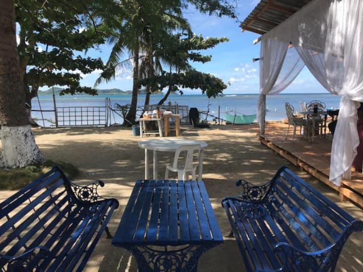 Batangas Beach #9  Cottage BEACH FRONTVIEW