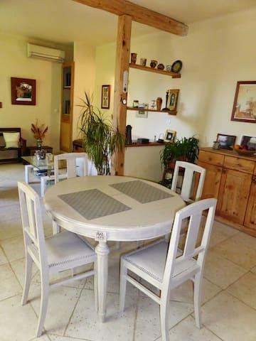 Appartement dans la verdure dans village provençal - Le Thor - Daire