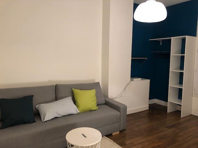 Studio cosy à 5min de Paris