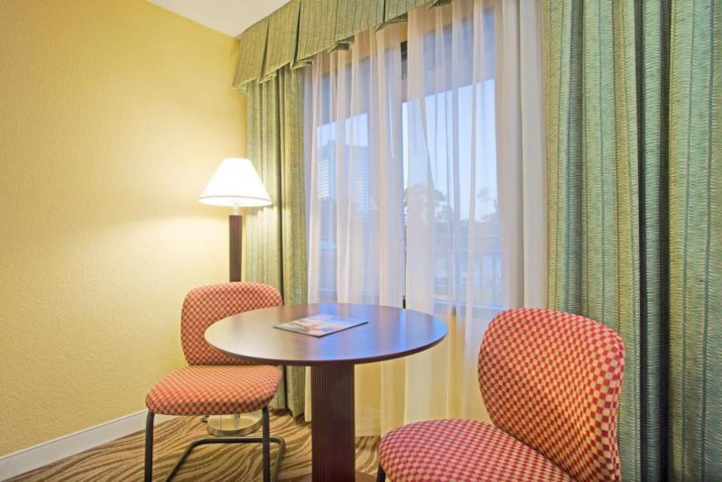 Additional seating is the perfect place to start your morning with coffee or tea