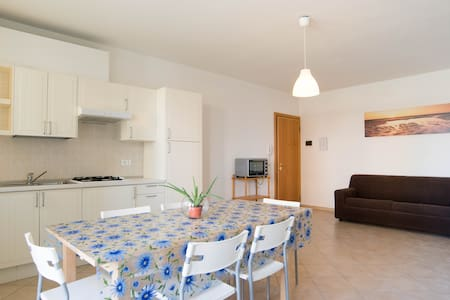 TWO-ROOMS WITH TERRACE SEA VIEW - Bacucco - Διαμέρισμα