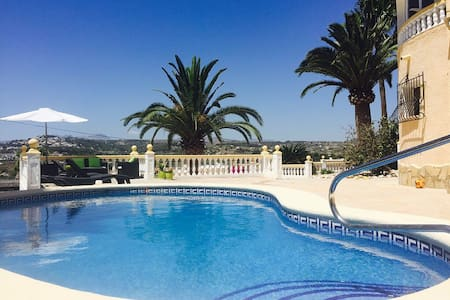 2 bed apartment, with private pool - Moraira
