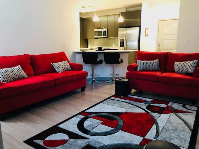 Luxury 2 bdrm apartment near Grant Park/Downtown!