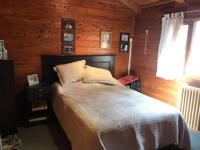 Habitacion en Casa de Troncos en Puerto Madryn