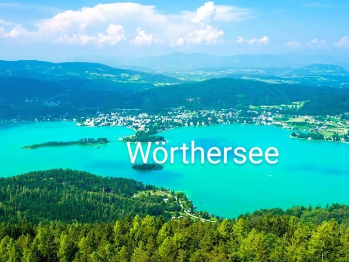 Villach DZ, Faakersee, Wörthersee, Ossiacher See