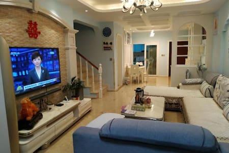 东坡岛,商业水街,地中海蓝色风格,精装修,双层豪华公寓