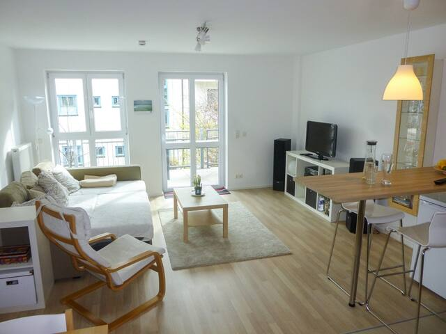 Sunny room near centre + Wifi - Мюнхен - Квартира