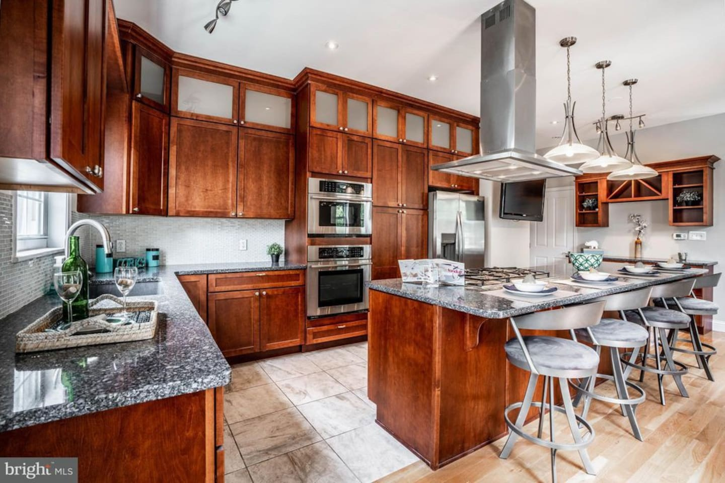 Entertain or relax in our gourmet kitchen.