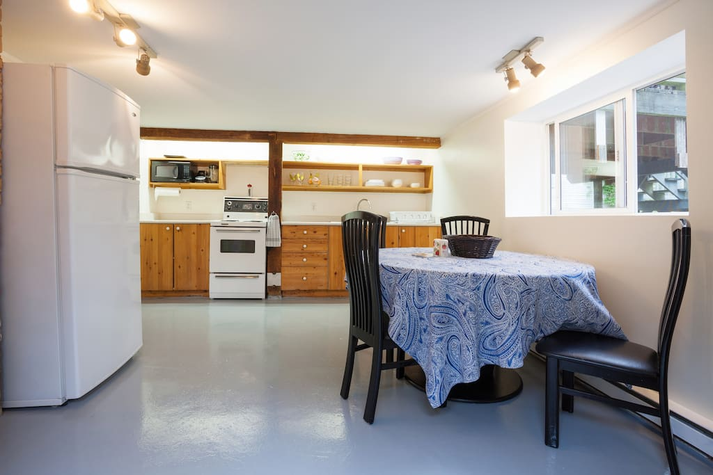 Spacious Summer Vacation Suite In Fernwood Apartments For Rent In Victoria British Columbia