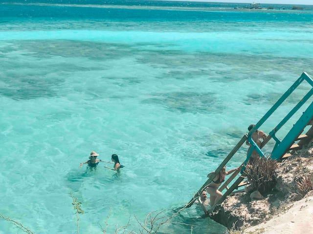Ocean Front Property -  Villa 2 Aruba