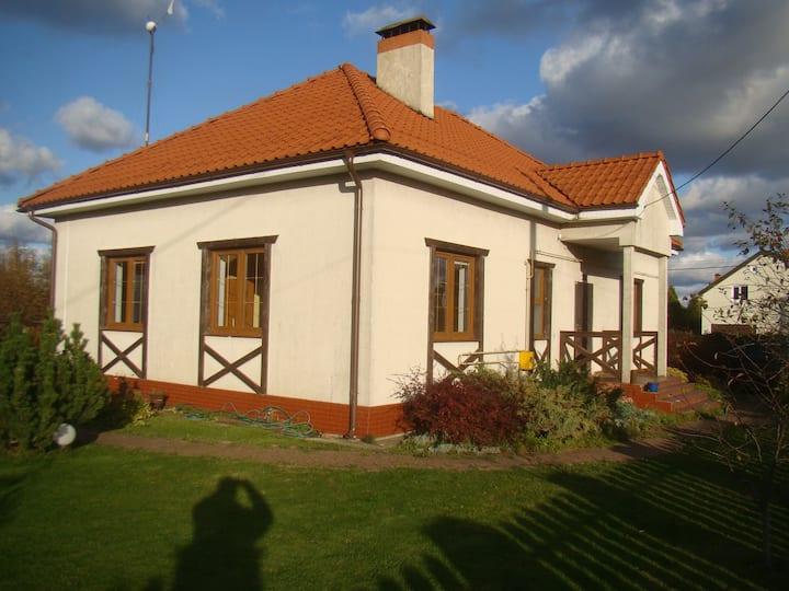 Дом для отдыха на берегу Балтийского моря.