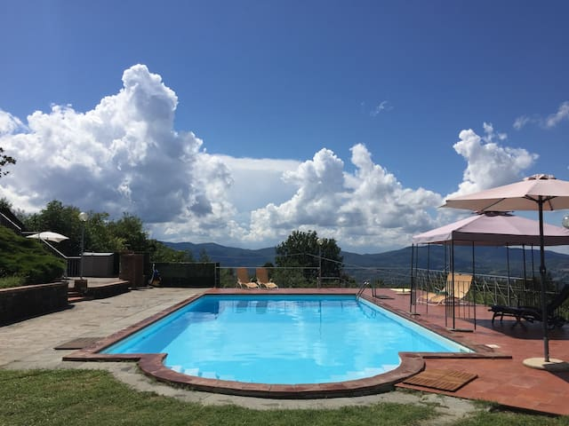 2 apartments in beautiful Tuscany, Italy - Reggello - Byt